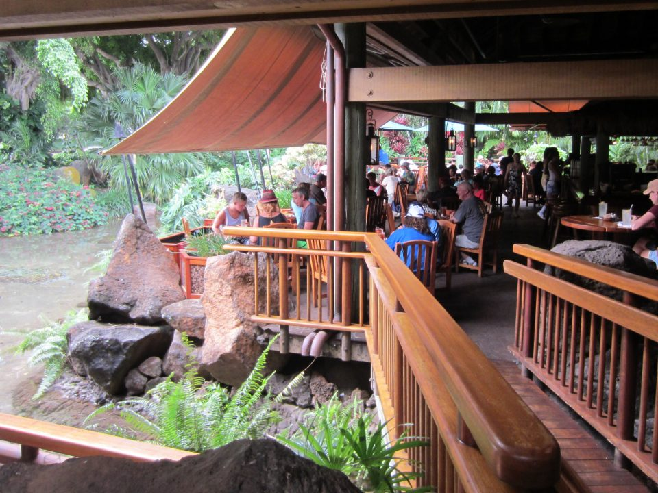 Dinning at Keoki's Paradise