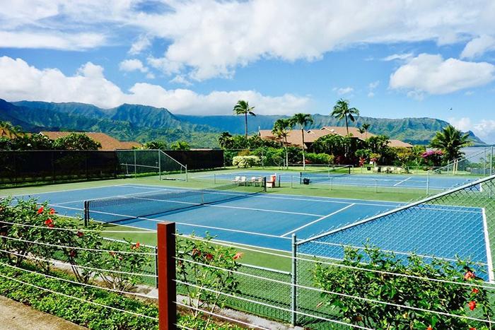 0f1a875450905 Featured Tennis Gallery. Kauai Tenni
